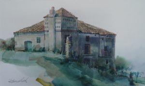 Gebäude eines größeren Anwesens (Castellabate / Süditalien)