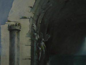 Kirchenruine, Detail