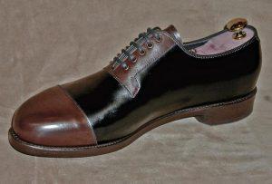 Schuh: Modell 'zapatOcinco' Entwurf: Rauschert • Fertigung: Vickermann & Stoya, Baden-Baden