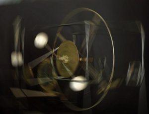 """Objekt: I = ∫ R² dm Fotografiert in der """"Galeria Arrabal"""", Callosa d' En Sarrià"""