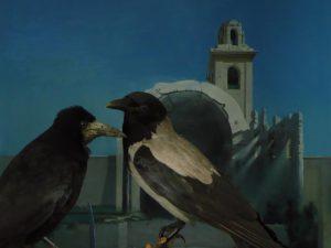 """Non molare, corvo In Anlehnung an das Aquarell """"Non molare, Francesca"""""""